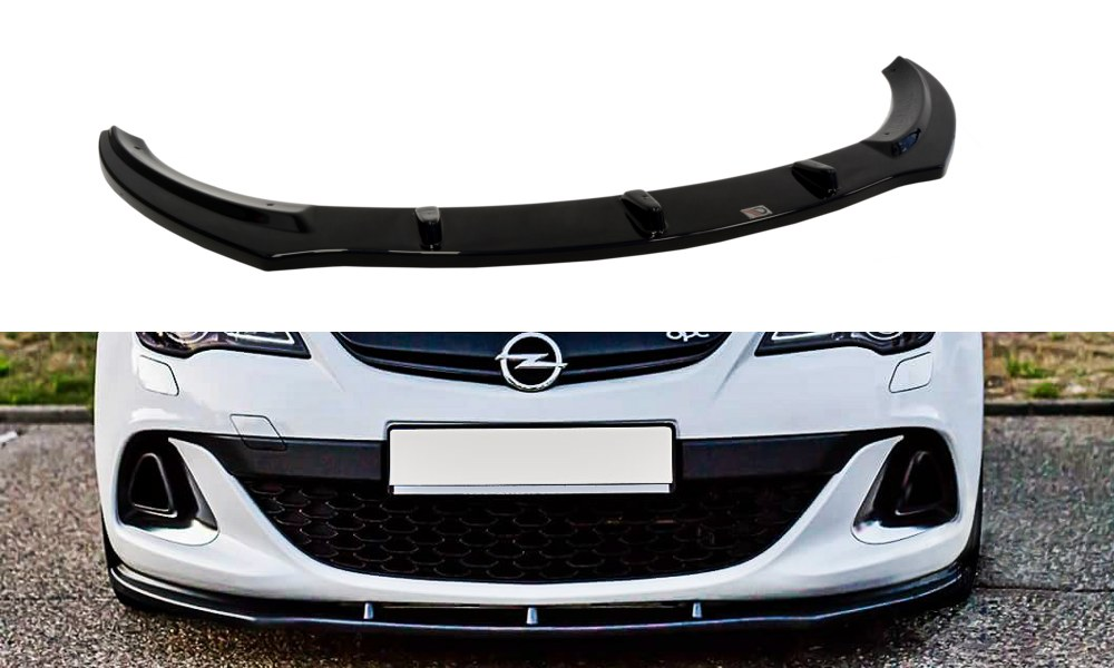 Splitter Przedni Opel Astra J OPC / VXR V.1 - GRUBYGARAGE - Sklep Tuningowy